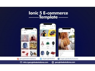 Ionic 5 Ecommerce Template