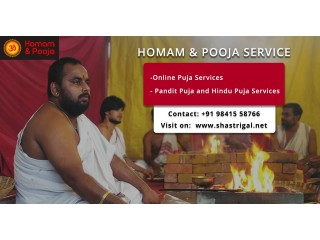 Homam and Pooja Services